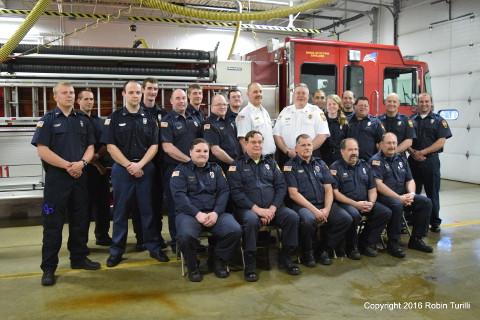 Jaffrey Fire Department Personnel