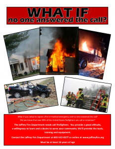 Call Firefighters Wanted